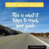 4 STEP GOAL SETTING STRATEGY with Torie Mathis