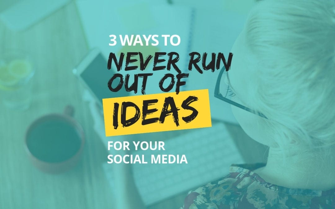How to Never Run Out of Content to Share