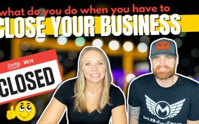 Your Business is Closed – What now???